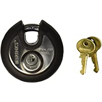 Brinks 673-70001 Home Security Commercial Discus Lock with Boron Shackle by BRINKS