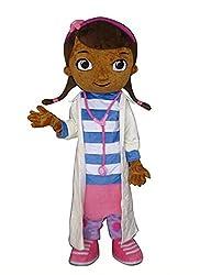 JWUP Doc Mcstuffins Mascot Costume Cartoon Character...