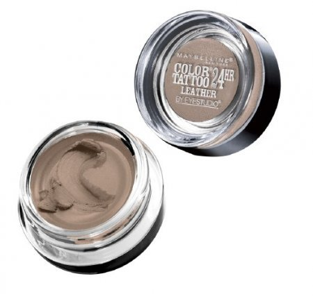 Myb Clr Tattoo 80 Creamy Size 0.14o Maybelline Eyeshadow Color Tattoo Leather Collection 80 Creamy Beige by Maybelline New York