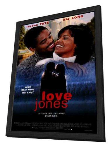 Love Jones - 27 x 40 Framed Movie Poster
