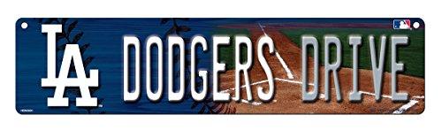 MLB Los Angeles Dodgers High-Res Plastic Street (Dodgers Street Sign)