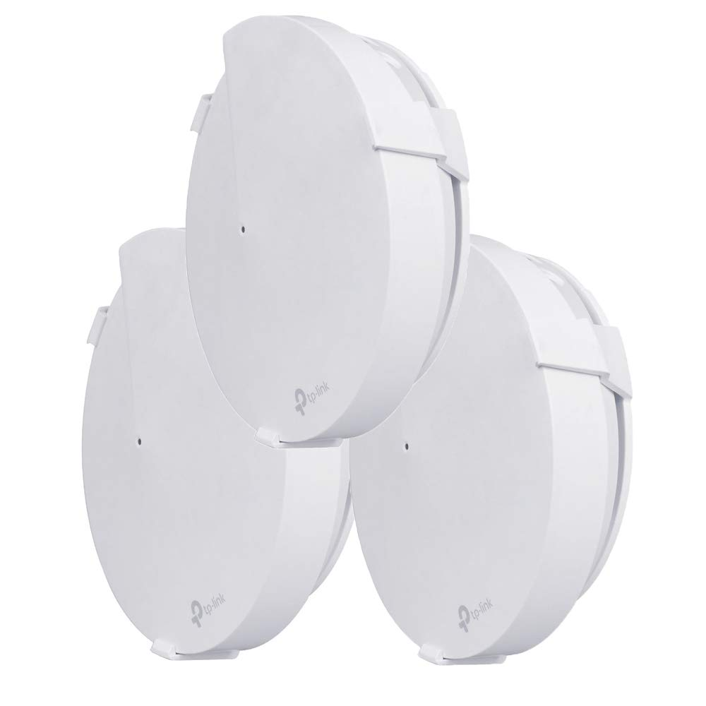 foreaya 3 Packs Wall Mount Stand Holder for TP-Link Deco M9 Plus WiFi Whole Home Mesh Wi-Fi System Stability ABS Wall Mount Cable Storage (3 Packs) by foreaya