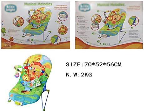 db4d49836 CDREAM Balancín Silla Mecedora De Lujo Reclinable Vibradora Y Musical para  Bebé,Green. Cargando imágenes.