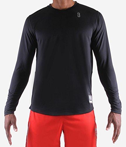 Court Shooting Jersey - POINT 3 Fadeaway Long Sleeve Shooting Shirt