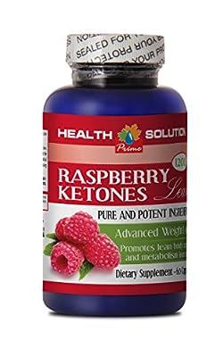 Natural fat burner men - RASPBERRY KETONES LEAN (ADVANCED FORMULA) 1200mg - Raspberry ketones plus weight loss - 1 Bottle 60 Capsules