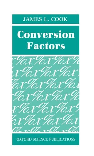 How to find the best conversion factors for 2020?