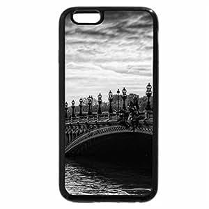 iPhone 6S Case, iPhone 6 Case (Black & White) - Pont d