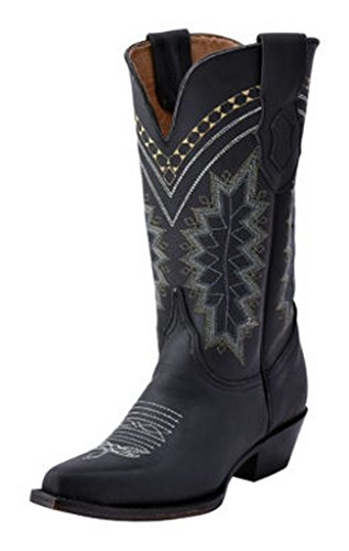Ferrini Ladies Navajo Snip Toe Boots Black jOHfPqzdkp