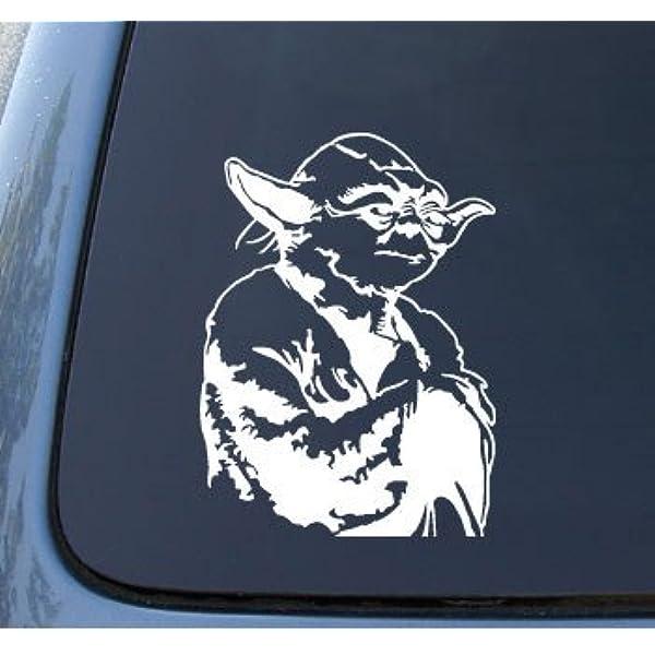 Vinyl Decal Sticker Star Wars Jedi Master Car Laptop Wall 75082z