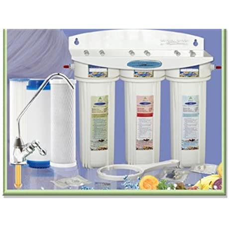 CRYSTAL QUEST Undersink Replaceable Triple Multi ULTIMATE Water Filter System