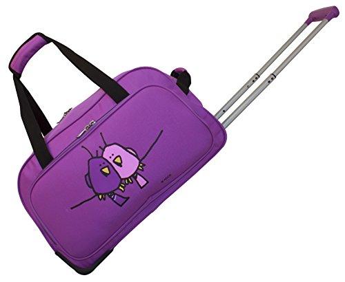 ed-heck-big-love-birds-wheeled-duffel-20-purple-one-size