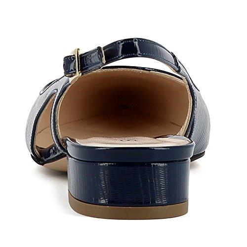 Evita Shoes Franca - Zapatos de vestir de Piel para mujer azul oscuro