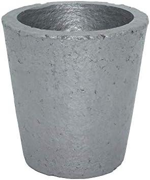 Dumadf Gießerei-Siliziumkarbid-Graphit-Tiegel-Schale, die Goldsilber-Kupfer-Messing-Aluminium für 5KG Kupfer oder 2KG Aluminium veredelt