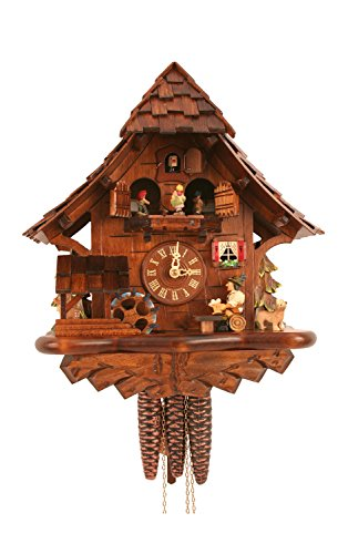 Black Forest Dance and Drink Cuckoo Clock by Alexander Taron