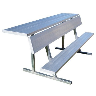 7.5' Players Bench - 7.5' Portable Aluminum Players Bench