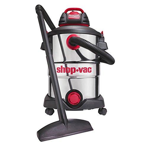 Shop-Vac 5926211 12-Gallon 6 Peak HP Stainless Steel Wet Dry Vacuum (5926211)