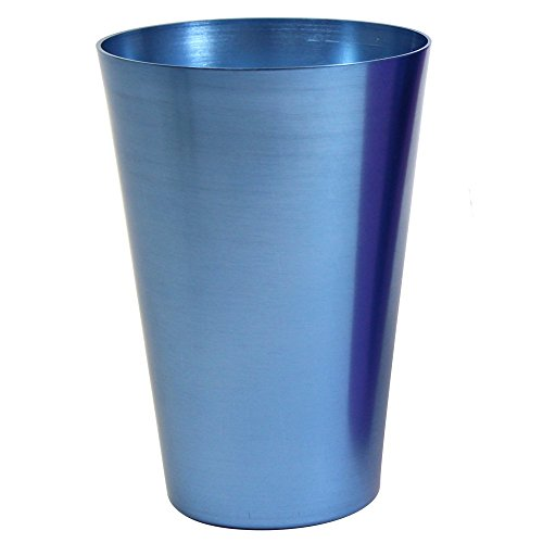 TMD Holdings Anodized Aluminum Pint Tumbler, Dusty Blue
