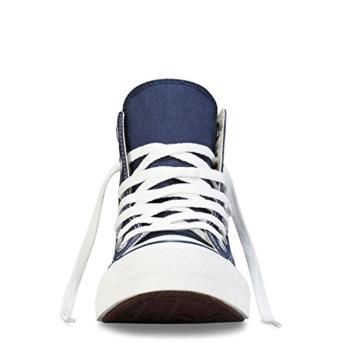 Converse Unisex Chuck Taylor All Star Hi Top Sneaker Scarpe Blu Navy (3.5) (blu Navy / Bianco, 6 B (m) Us Women / 4 D (m) Us Men)