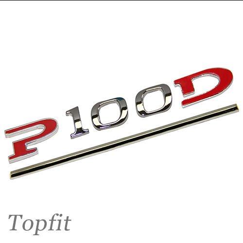 Customized Stereoscopic Sticker Badge for Tesla Model S Model X 90D