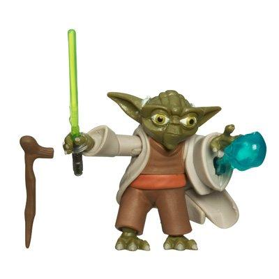 No 3 Standard Hasbro 87658F Yoda Force Blast Action Figure