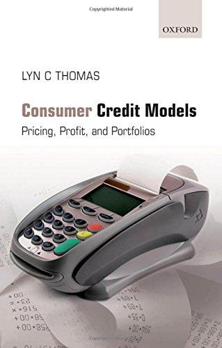 Consumer Credit Models: Pricing, Profit and