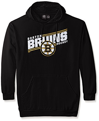 Fleece Boston Bruins Pullover - NHL Boston Bruins Men's Bruins Fleece Pullover Hoodie, X-Large/Tall, Black