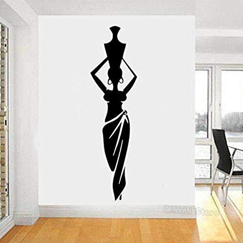 Decoration Bedroom Living Room Dance Style Pitcher Vase Wall Decal Home Decor Pattern 30X110Cmdiy, Wallpaper, Bathroom, Toilet Seat Decal, Durable Vinyl