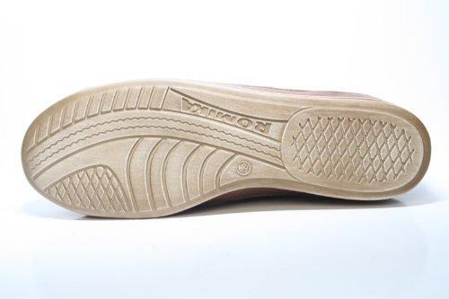 Romika , Chaussures de ville à lacets pour femme Marron Braun (castania) 42