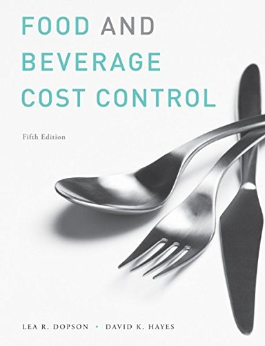 Study Guide to accompany Food and Beverage Cost Control, 5e