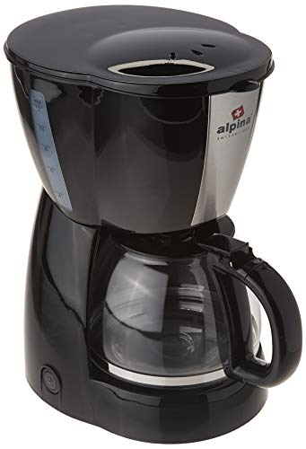 Alpina 10-12 cups Coffee Maker Auto Warm, Anti-drip with Permanent Filter, 220V (Not For USA) - Alpine Filter