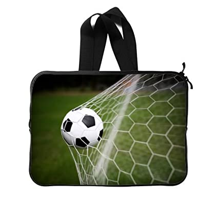 """Water Resistant Neoprene Football Soccer Ball 15"""" Inch (Twin Sides) Notebook / Laptop"""
