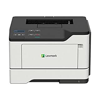 Lexmark B2338dw Monochrome Laser Printer Offers Duplex, Two-Sided Printing, Enhanced Security with Wireless & Ethernet Network Capability All in a Compact Machine (36SC120),Grey