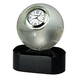 Howard Miller Axis Clock, Optical Crystal