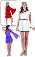 RG Costumes 81261-S Female Toga Costume - Red - Adult Small 1-3