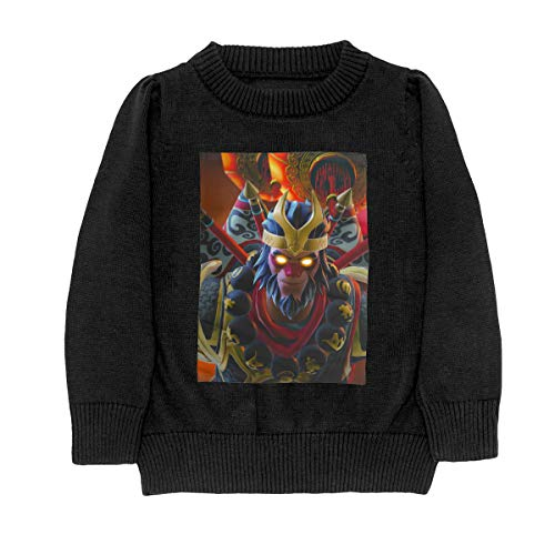 Price comparison product image WU KONG Children Boy Girl Long Sleeve Crew Neck Funny Knit Blouse T-Shirt 31
