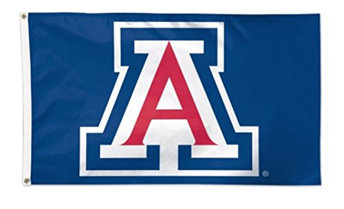 Fabric Wildcats Arizona - NCAA University of Arizona Wildcats Deluxe 3'x5' Premium Fabric Flag with Grommets