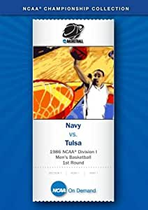 1986 NCAA(r) Division I Men's Basketball 1st Round - Navy vs. Tulsa