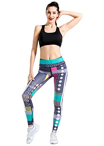 Abstract Geometric 80s Inspired Athletic Leggings - S to XL - customers suggest ordering a size up as they run small.