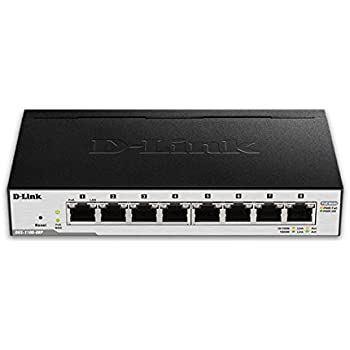 Amazon Com D Link 8 Port Easysmart Gigabit Ethernet Poe