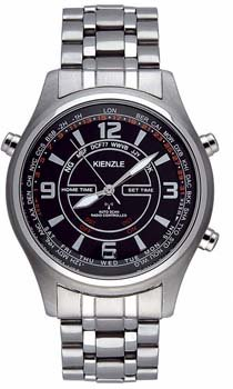 Kienzle Men's V71091437290 Black Dial Watch.