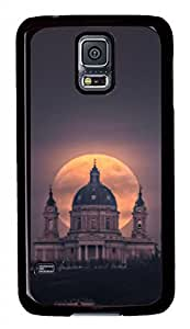 Supermoon Black Hard Case Cover Skin For Samsung Galaxy S5 I9600