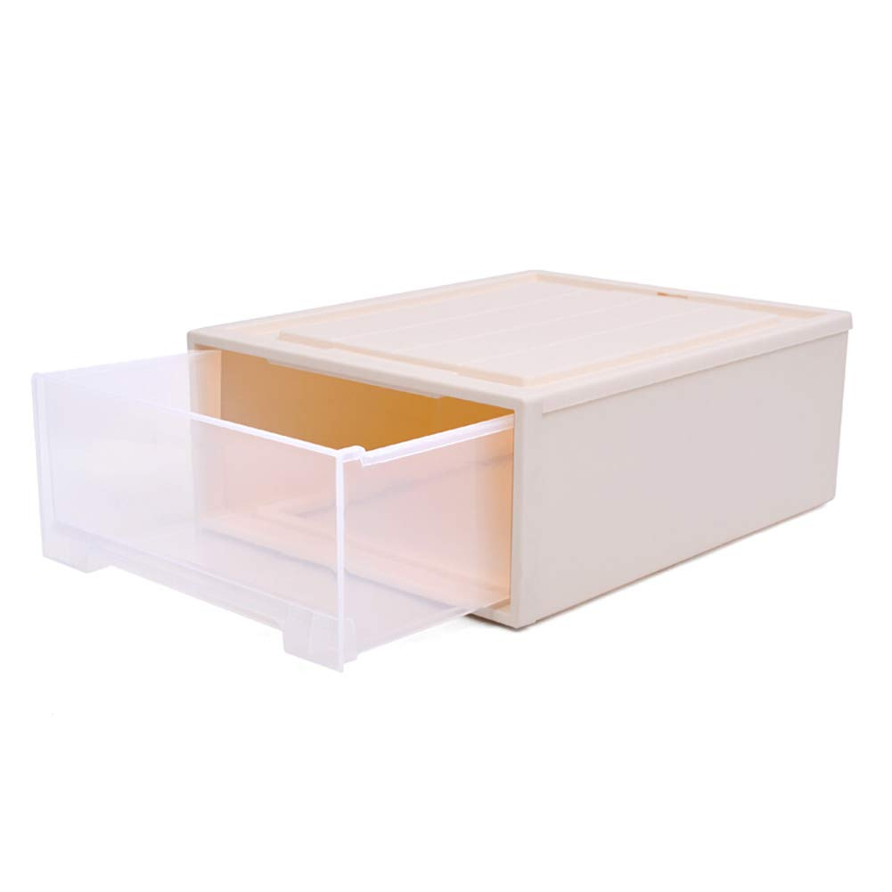 20L single Storage Box Storage Bins Baskets Toy Box Home Containers Cubes Bin Box Gift Baskets Storage Ches-Transparent Plastic Large Capacity Multiple JINRONG (color   10L3 Pack)