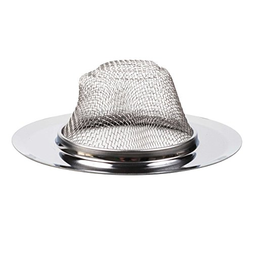 Brite Concepts Sink Strainer, Stainless Steel, 2-pack by Brite Concepts