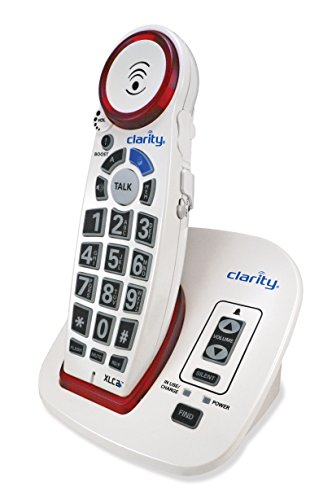 Clarity 59522.001 XLC2+ Severe Hearing Loss Ampified Cordless Phone (Cell Phone Hearing Impaired)