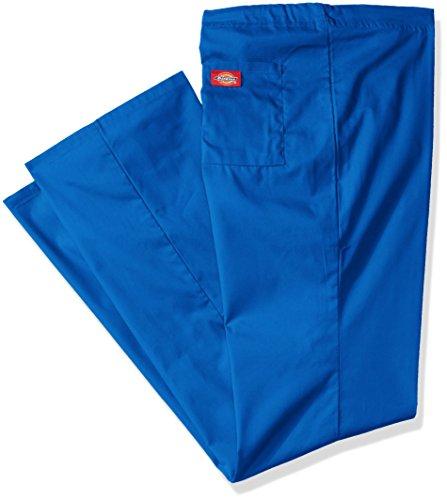 (Dickies Men's Big and Tall EDS Signature Unisex Drawstring Scrub Pant, Royal, XX-Large Short)