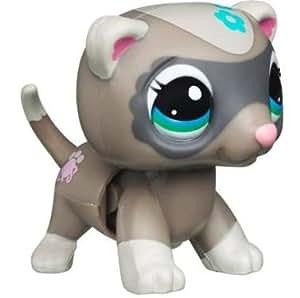 Hasbro Littlest Pet Shop Movimiento mágico Hurón - Mascota de juguete con movimiento