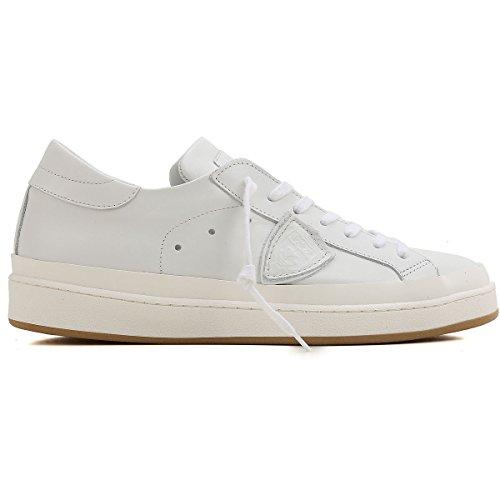 Philippe Model Sneakers Uomo CKLUVE84 Pelle Bianco