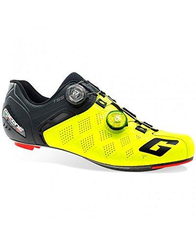 Gaerne Carbon G. Stilo + Schuhe Racefiets, Geel - 44