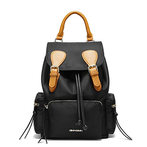Rong Backpack Purse for Women Drawstring Small Nylon Backpack