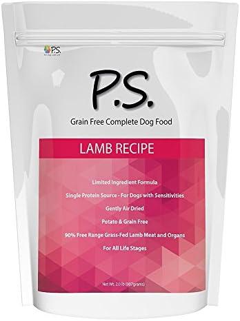 PS para perros 100% hipoalergénico comida para perro–No más lamerse y rascarse la piel–resuelve las alergias naturalmente–No más tragos perjudiciales, pastillas y caros alimentos recetados 2